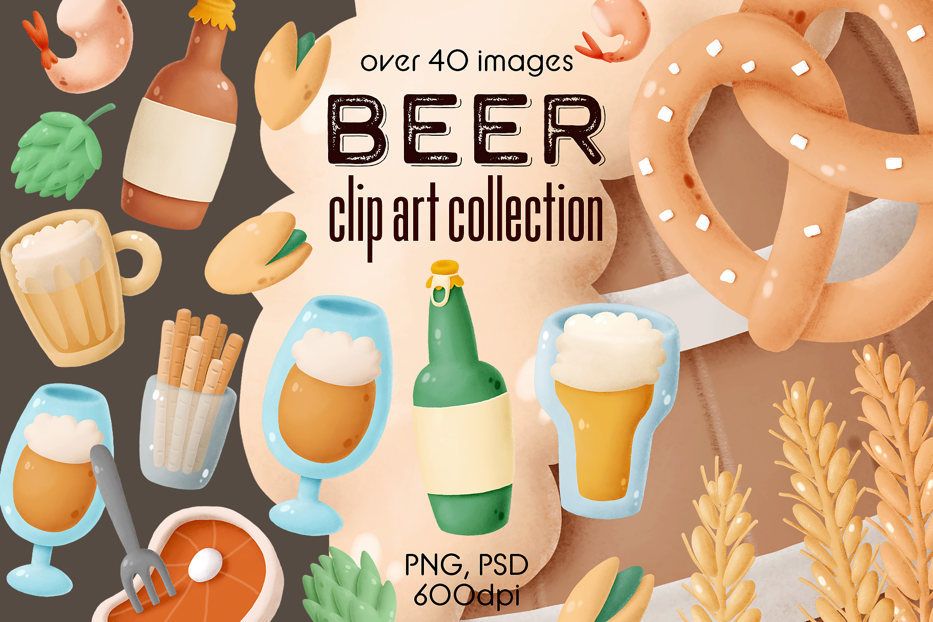 Beer clip art collection example image 1