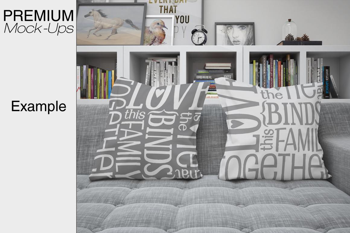 Pillows Mockup Set example image 7