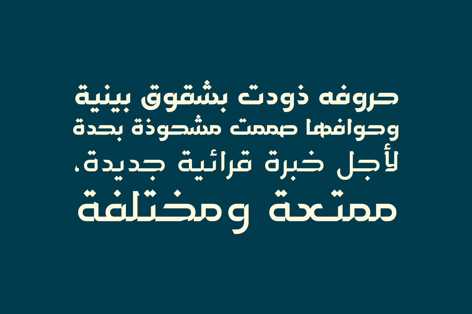 Hetaf - Arabic Typeface example image 10