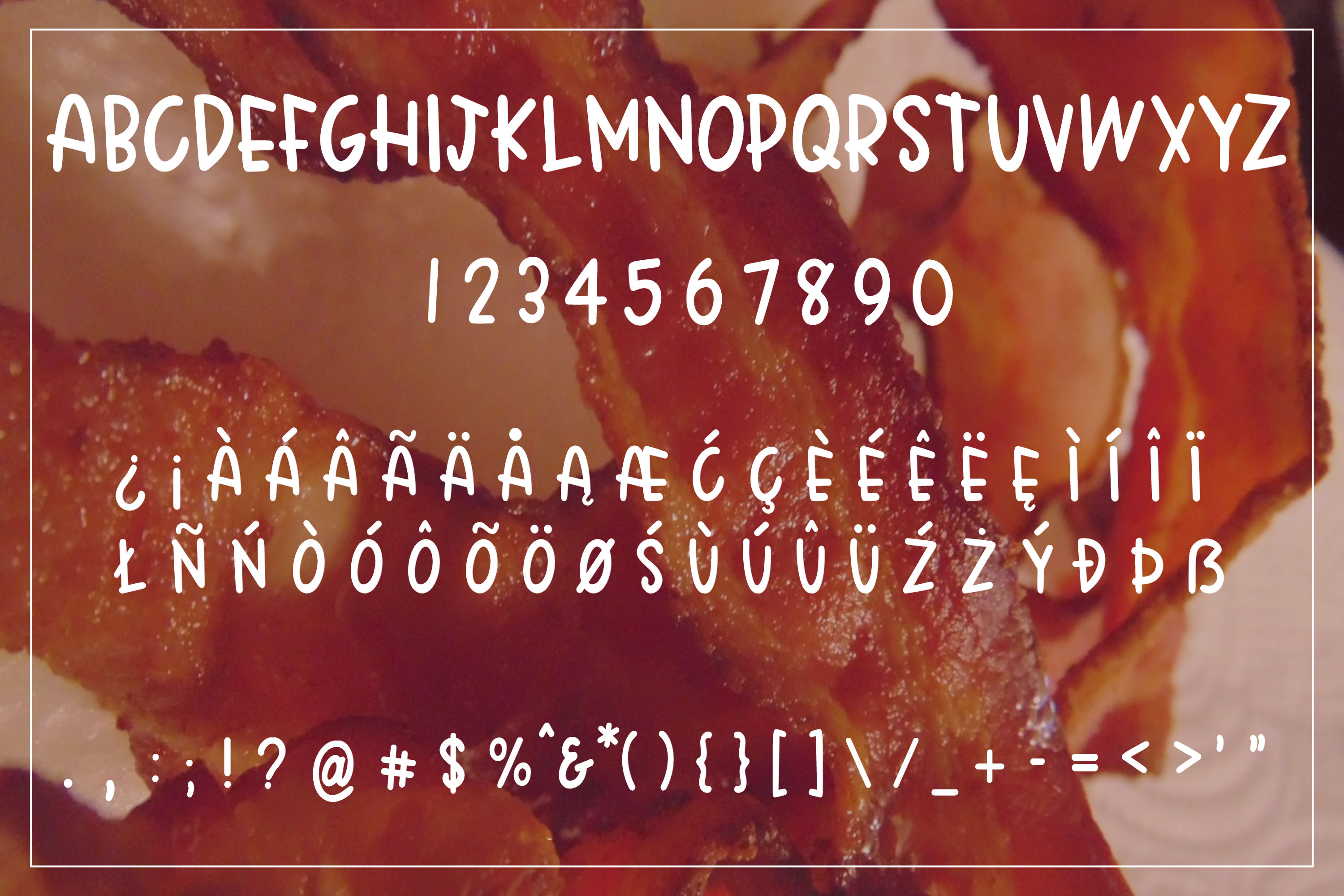 Crispy Bacon - A quirky all caps font example image 2