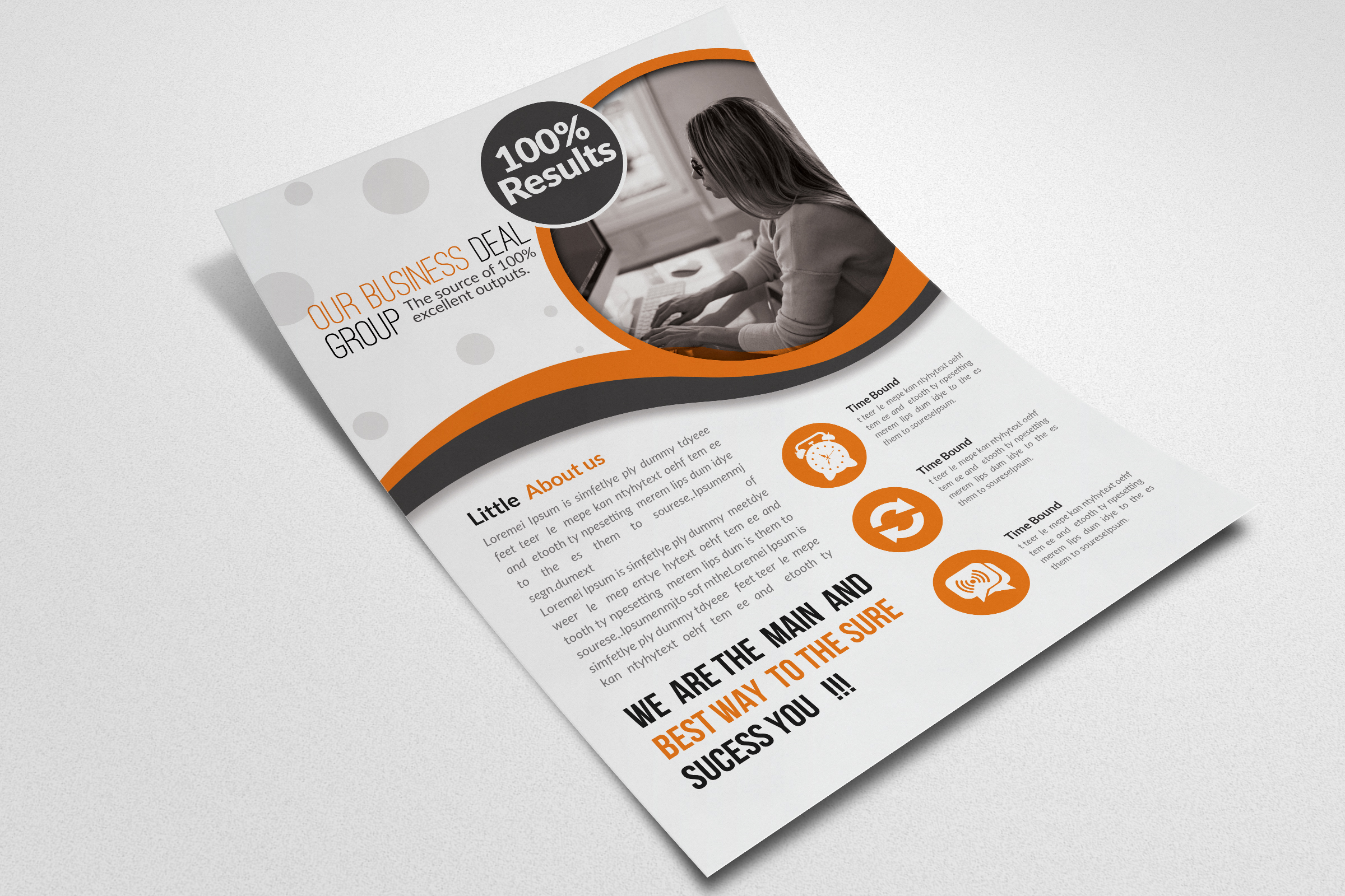 Staffing & Recruitment Agency Flyer example image 2
