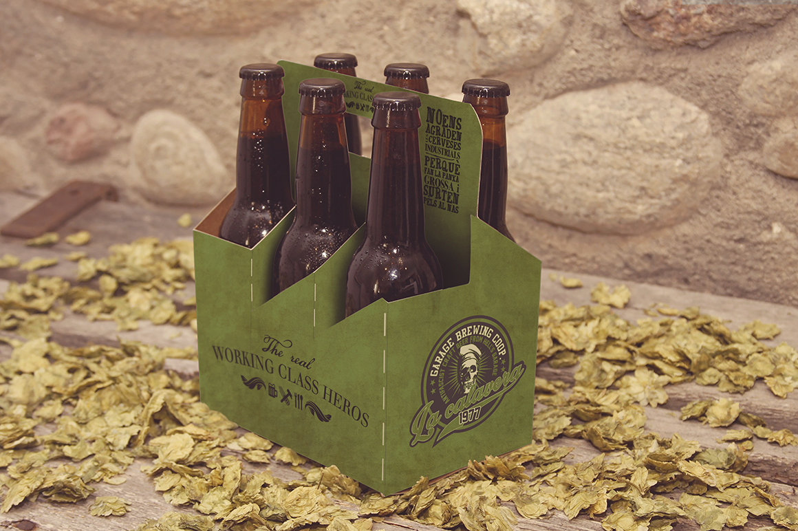 6 Pack Beer Mockup example image 7
