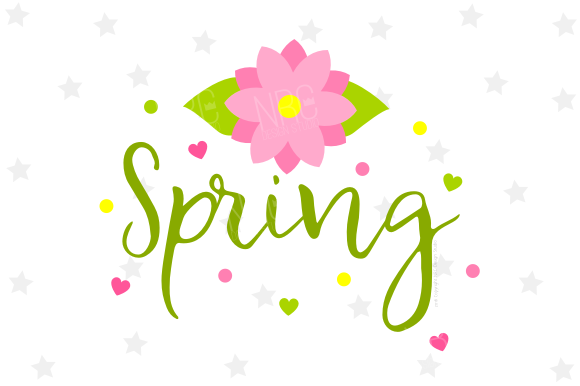 Spring SVG File example image 1