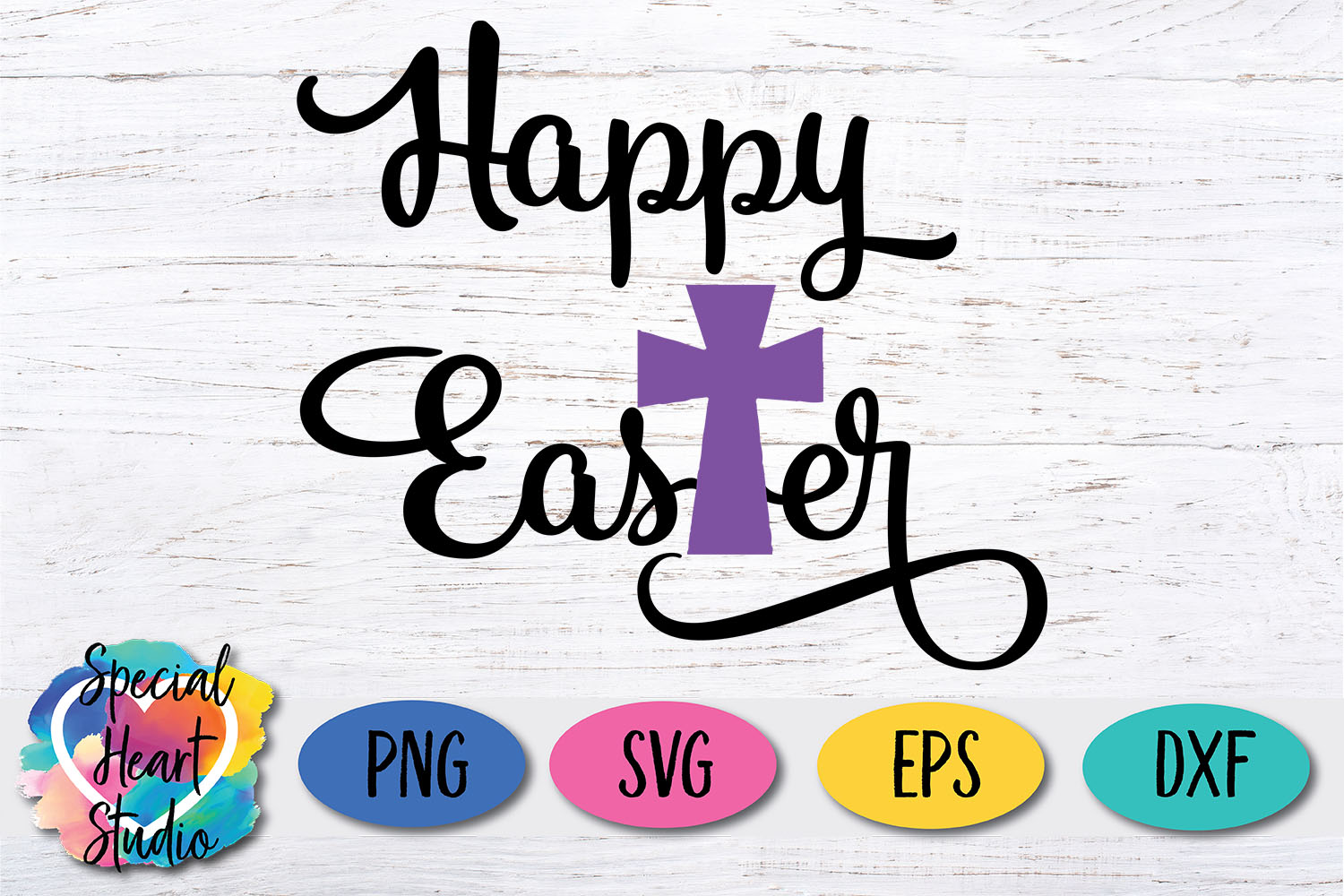 Happy Easter - Easter SVG Girl Easter Cut File example image 2