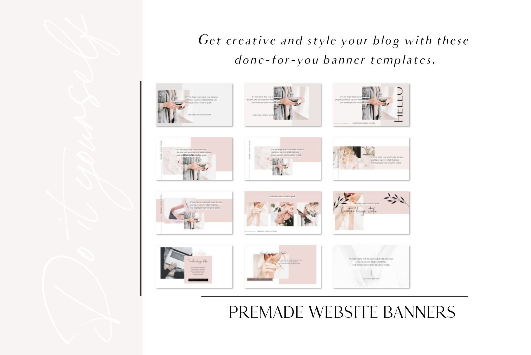 Premade website banners example image 5