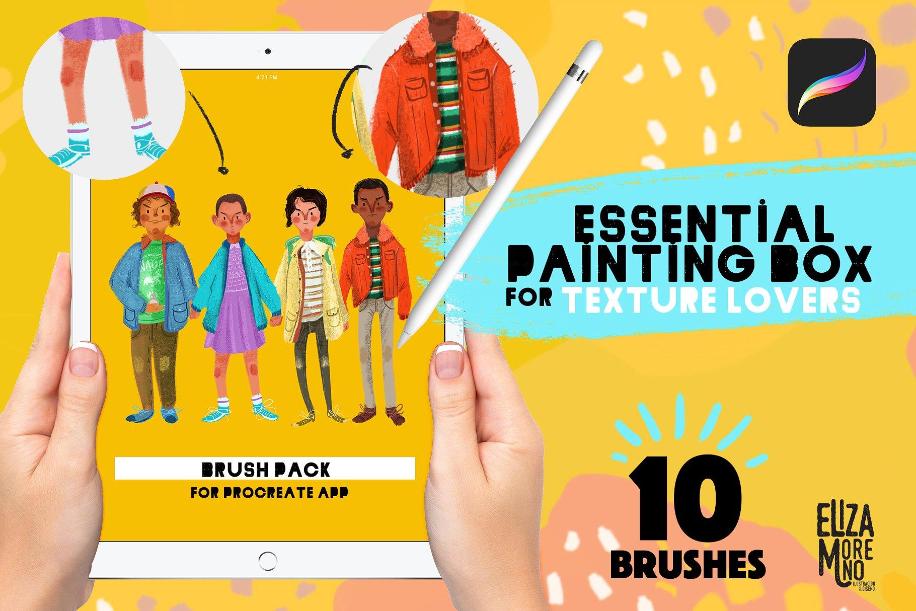 Procreate Essential Painting Box example image 1