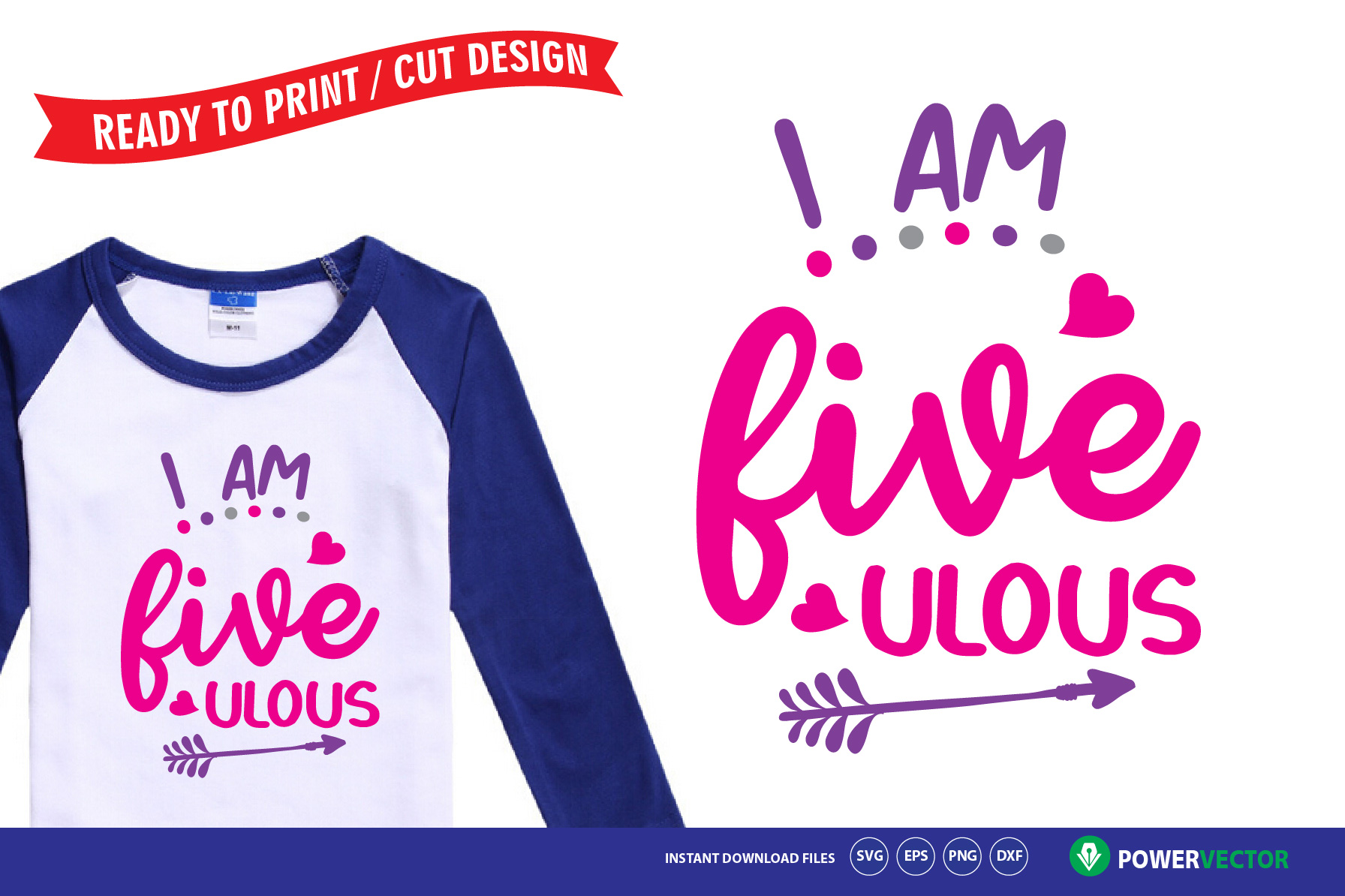 Kids Birthday Party T-Shirt Designs -Printing, Cutting Files example image 6