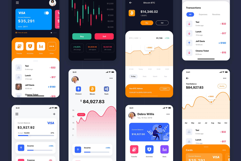 Curium - Financial UI Kit example image 2