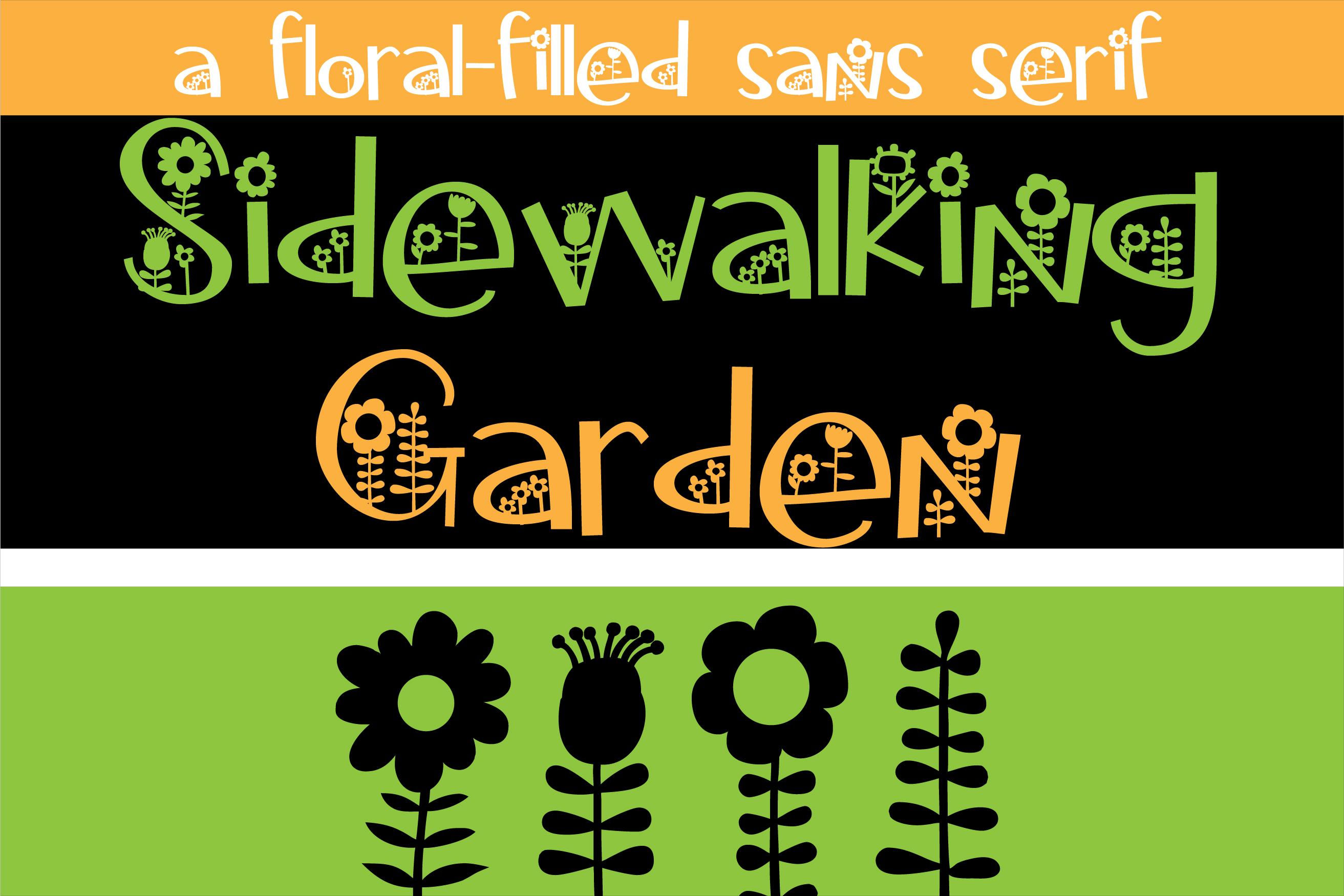 Sidewalking Font Duo example image 3