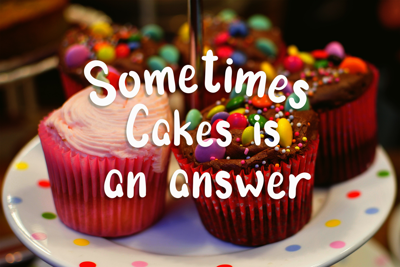 Morning Cake - Fun Font example image 3