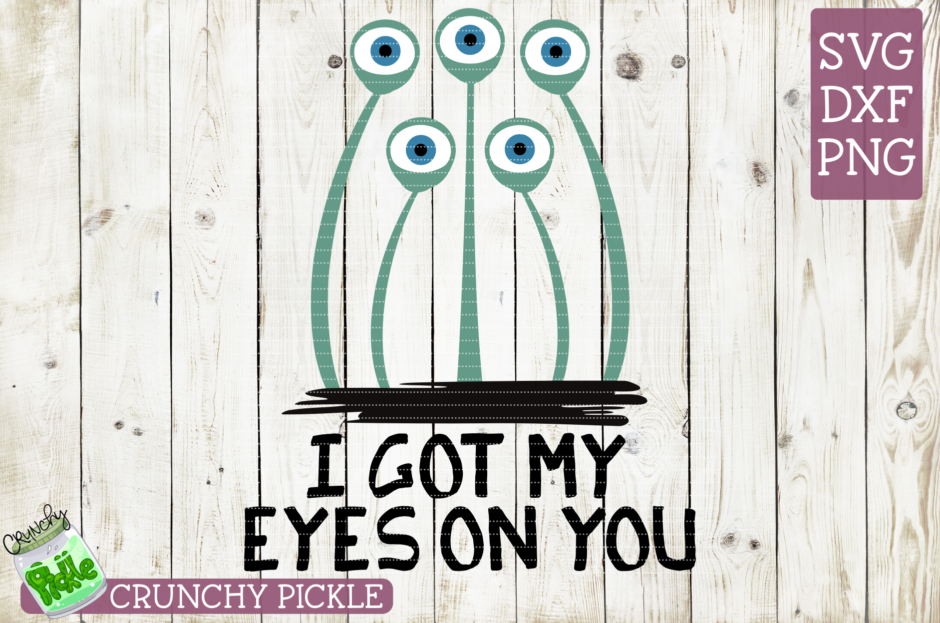 I Got My Eyes On You Halloween SVG example image 2