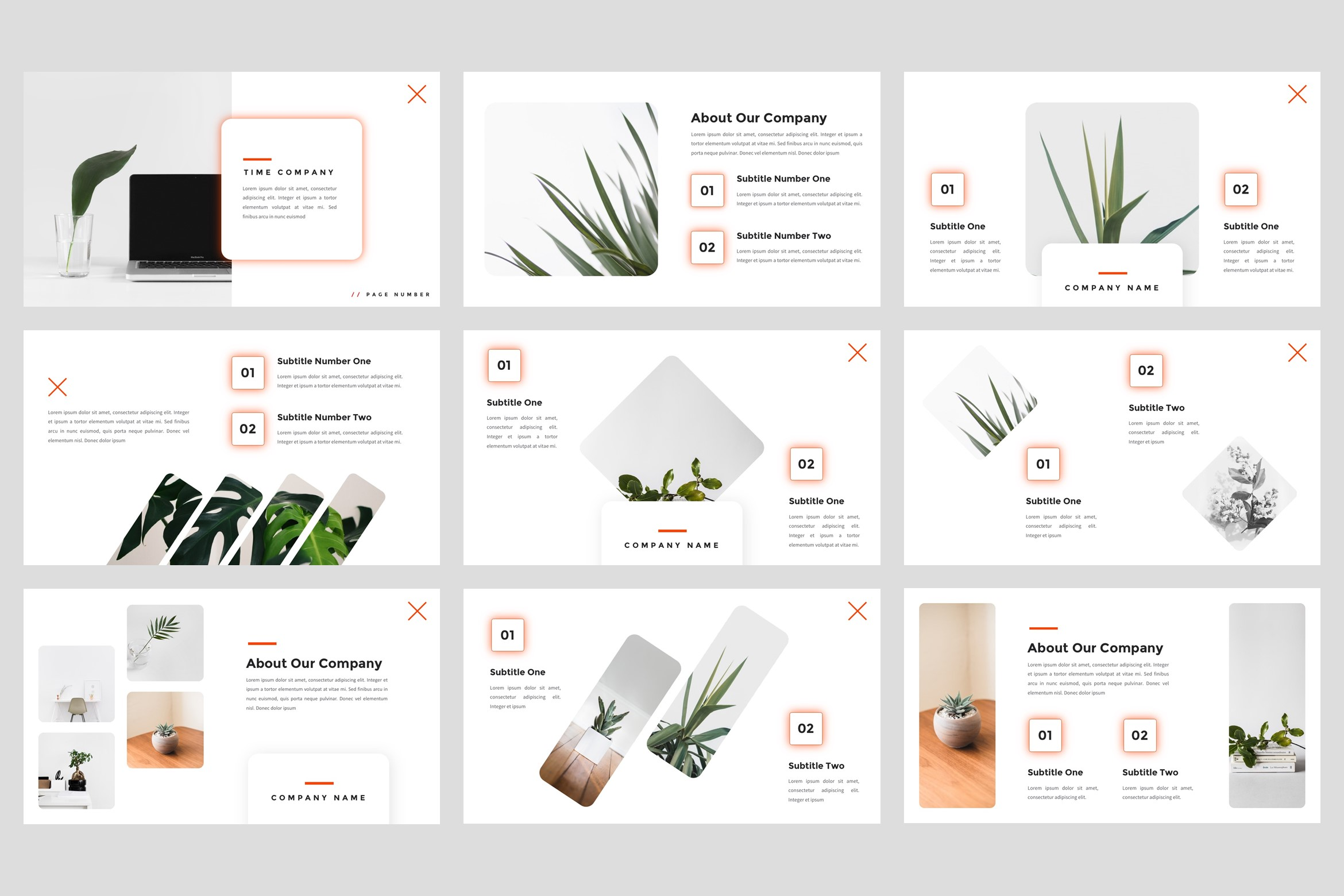 Time - Creative Google Slides Template example image 2
