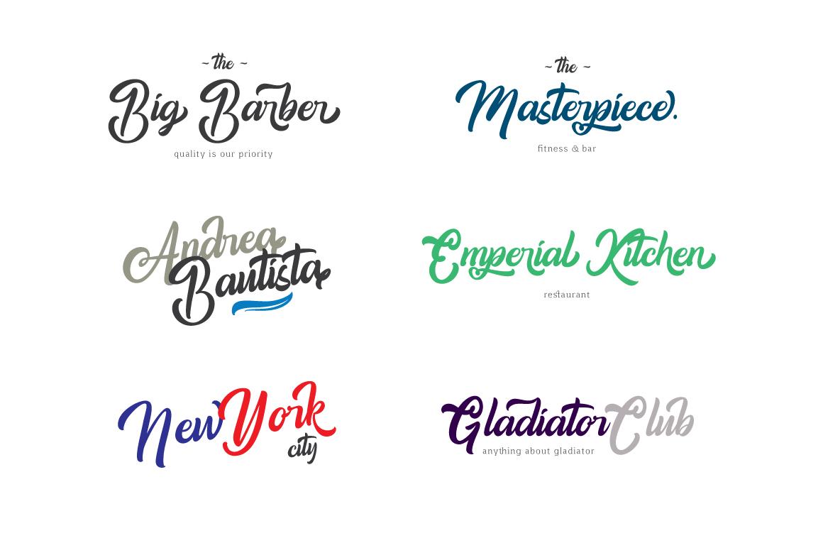 Amigos Typeface example image 6