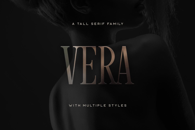 Vera Typeface example image 1
