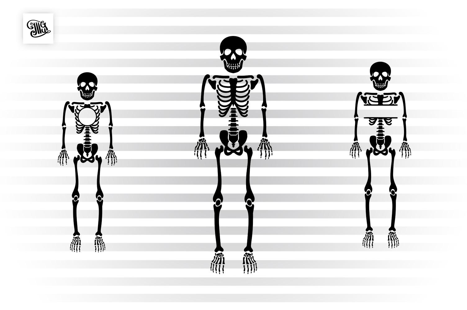 Kid skeleton for Halloween example image 1