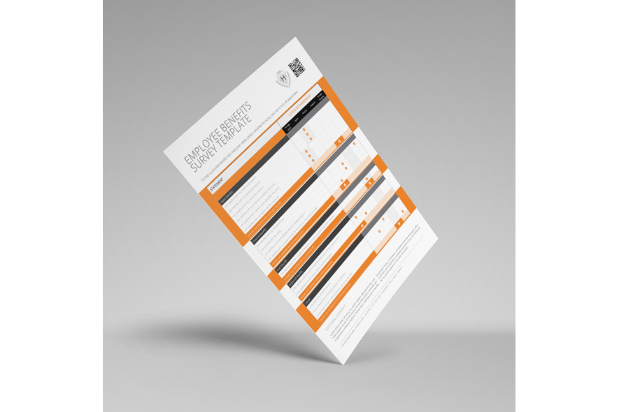 Employee Benefits Survey Form US Letter Template example image 5