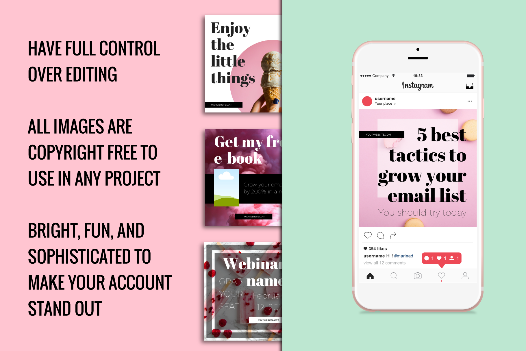 Instagram Templates Made In Canva example image 2