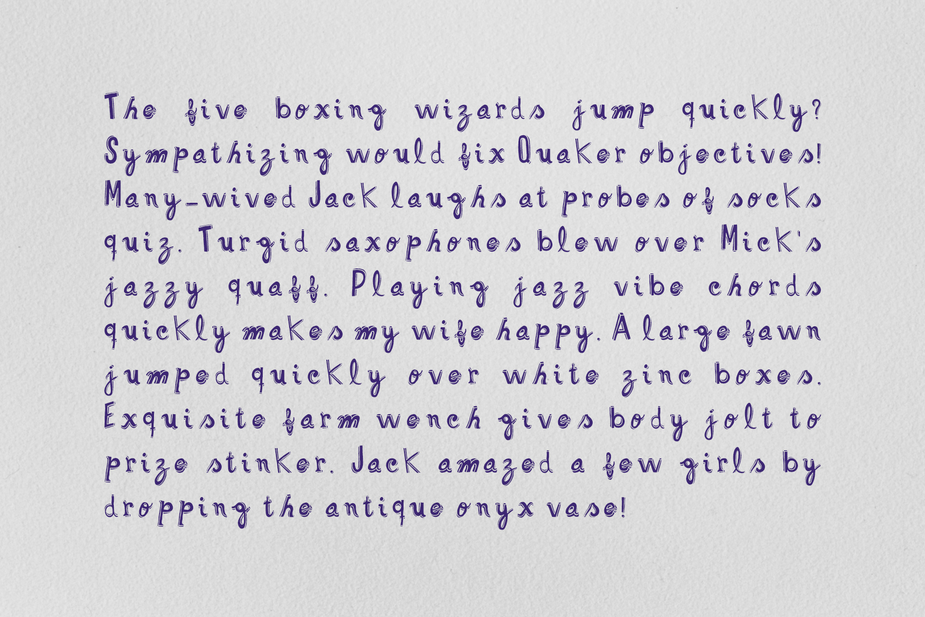 Funlet Typeface example image 5
