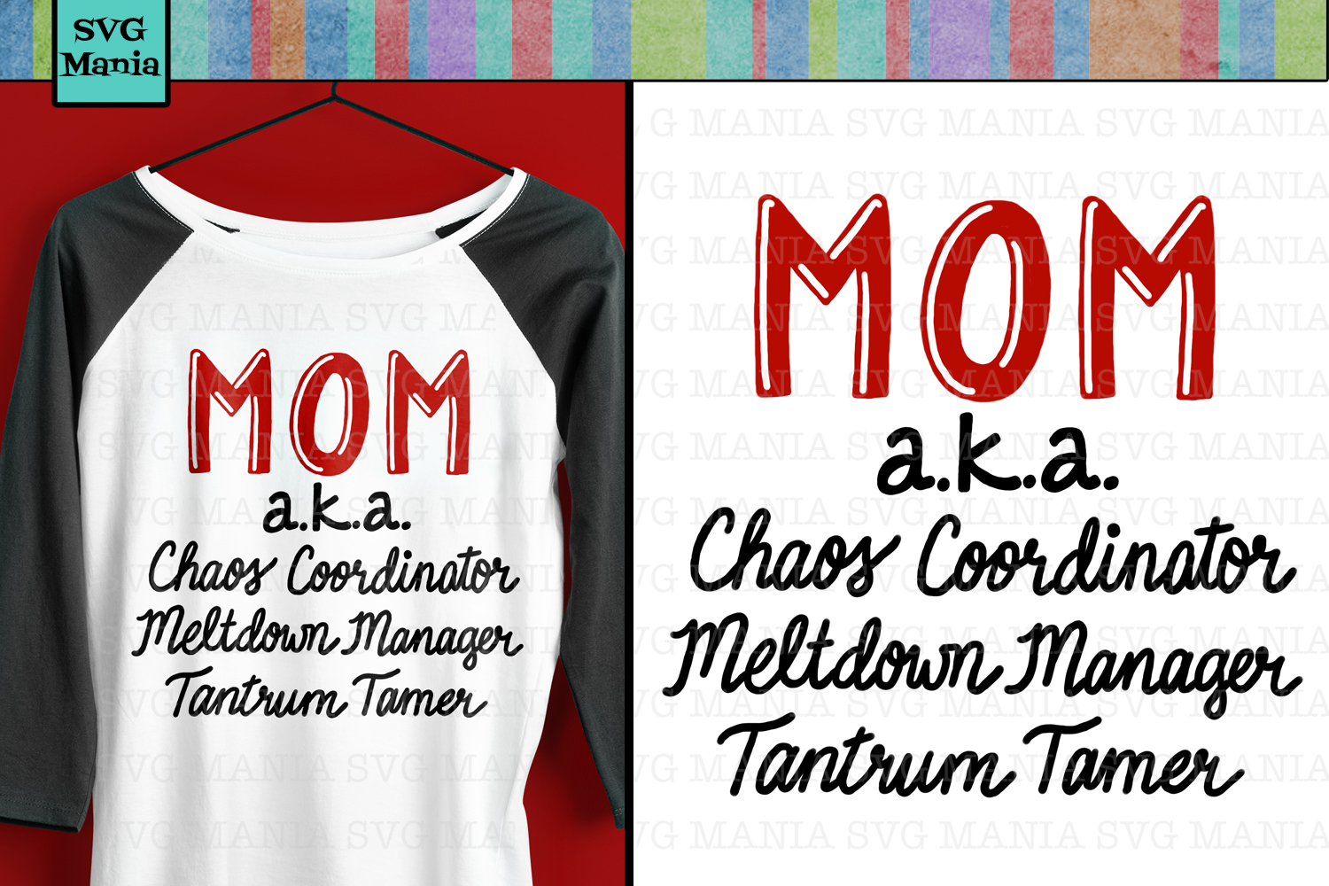 Funny Mom Quote SVG File, Mom Saying SVG, Mom Shirt SVG example image 1