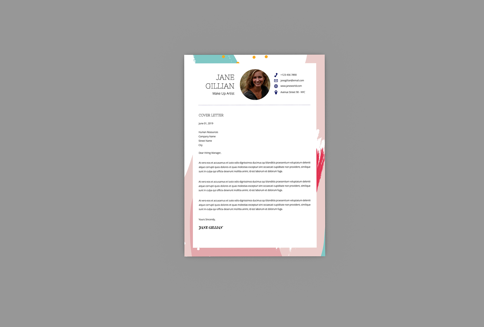 Dictionary Resume Designer example image 3