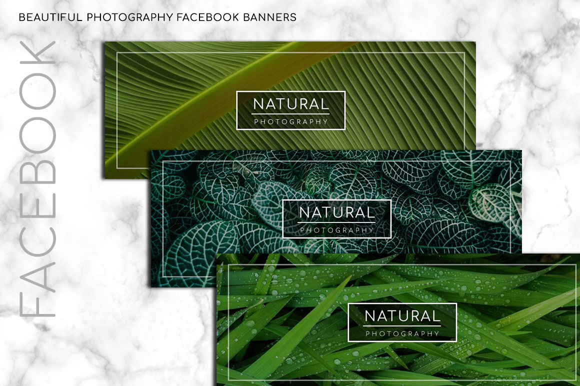 Natural Photography Facebook Banner example image 1