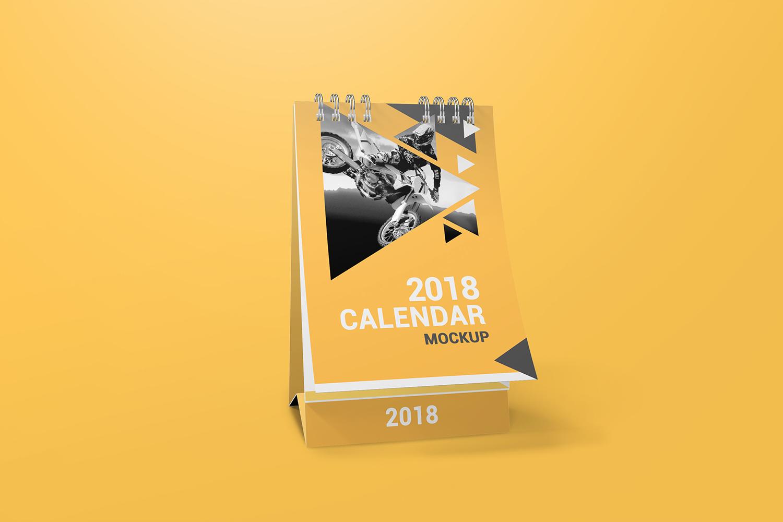 a6 Desk Calendar Mockups example image 4