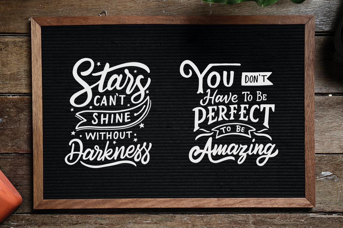 Inspirational Quotes Lettering example image 6