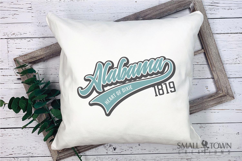 Alabama, Bundle, Heart of Dixie, Logo, PRINT, CUT & DESIGN example image 3