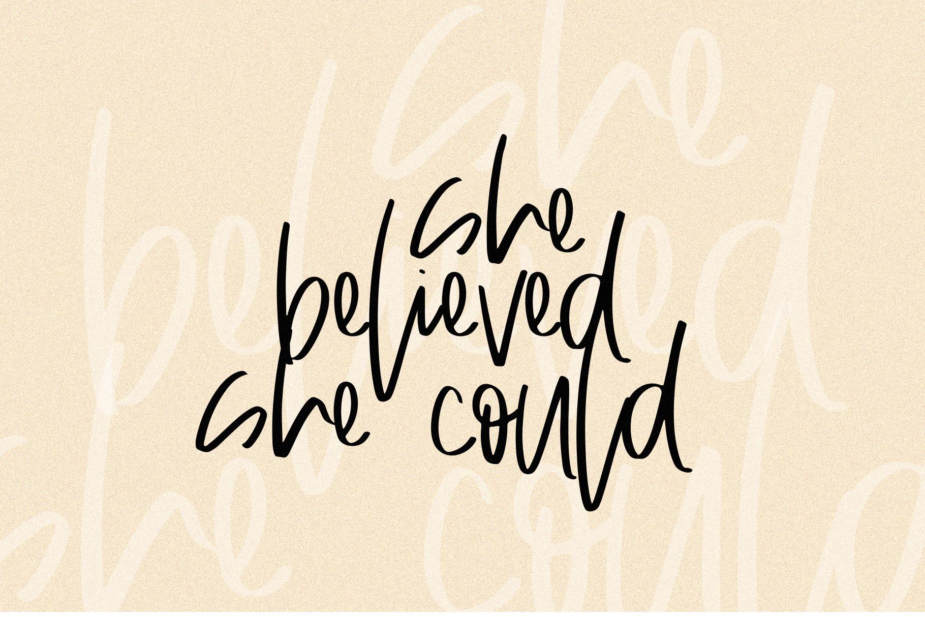 Always - A Handwritten SVG Script Font example image 21