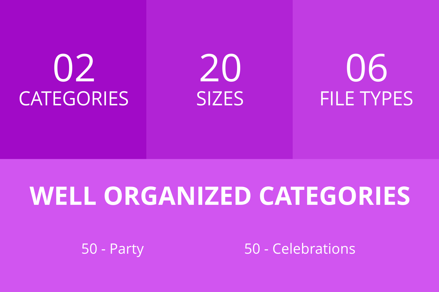 100 Party Line Icons example image 3