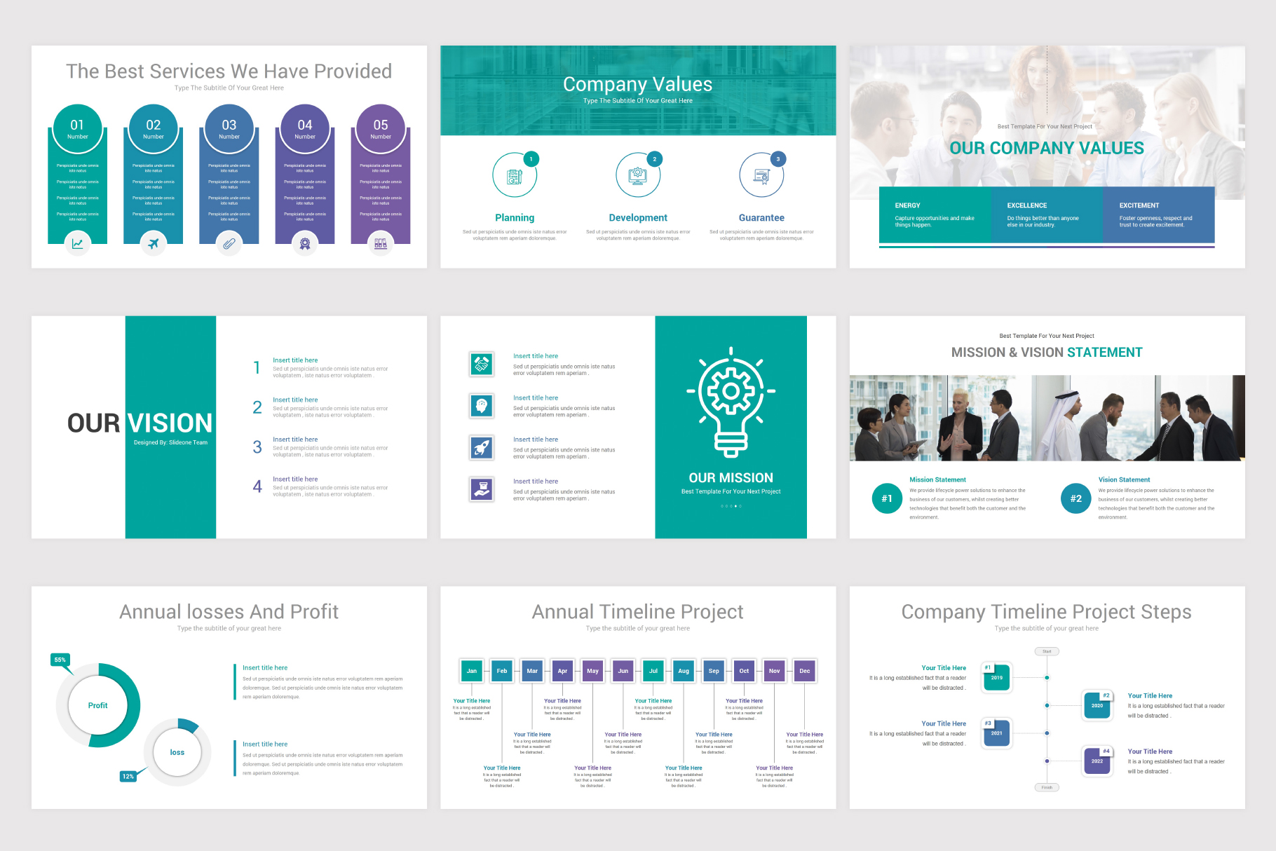 Annual Report Keynote Template example image 6