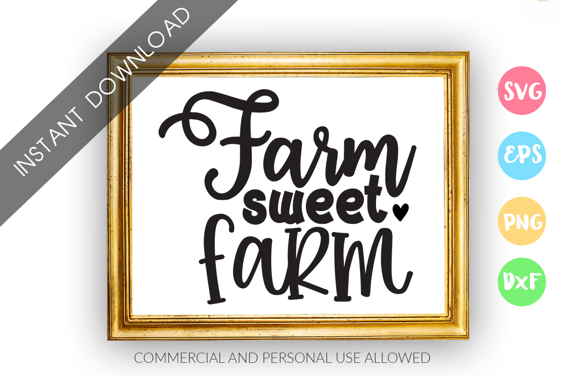 Farm sweet farm SVG Design example image 1