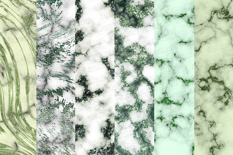 Emerald digital paper, green marble digital paper textures example image 9