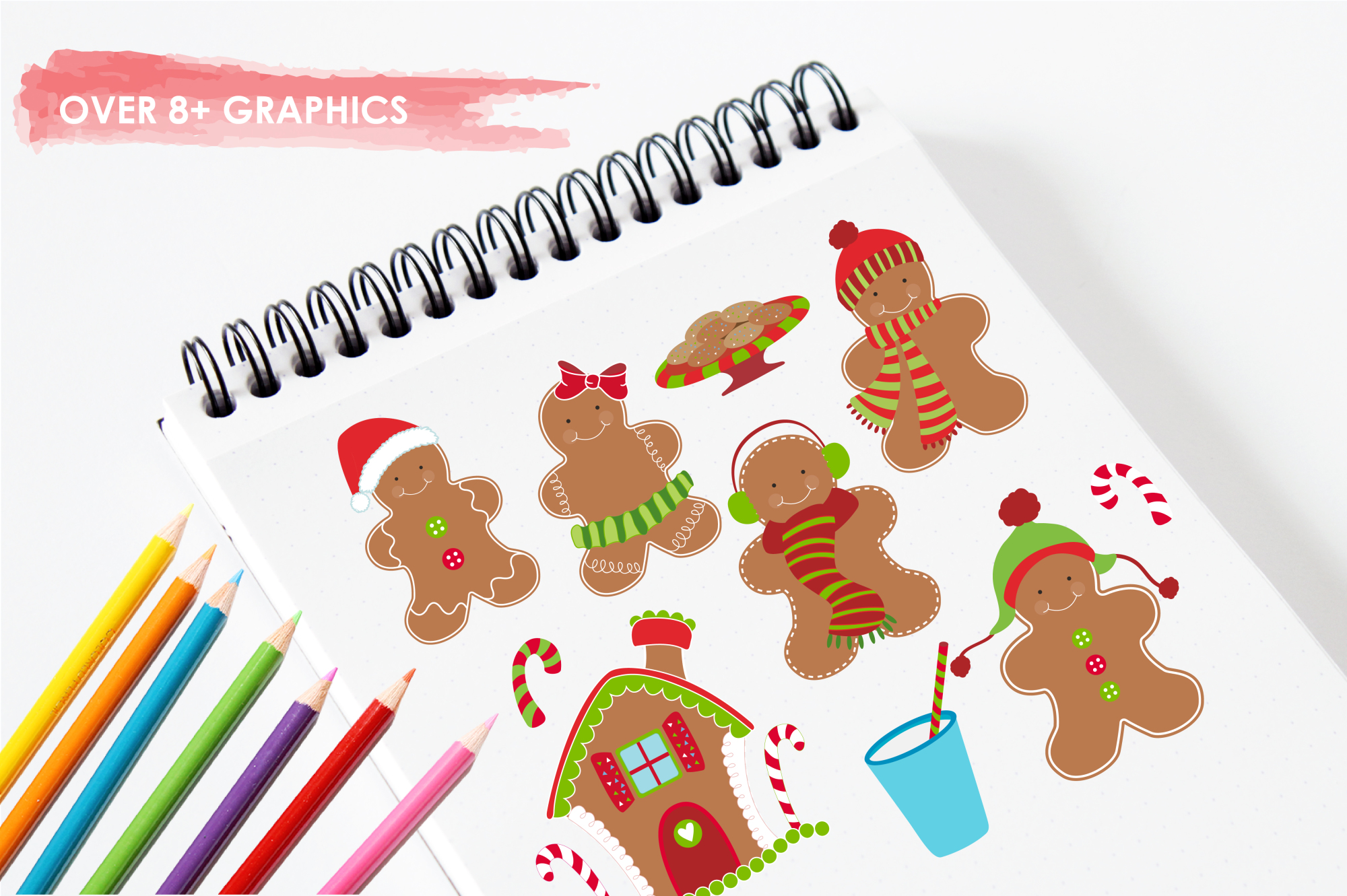 Gingerbread Classic graphics and illustrations example image 3