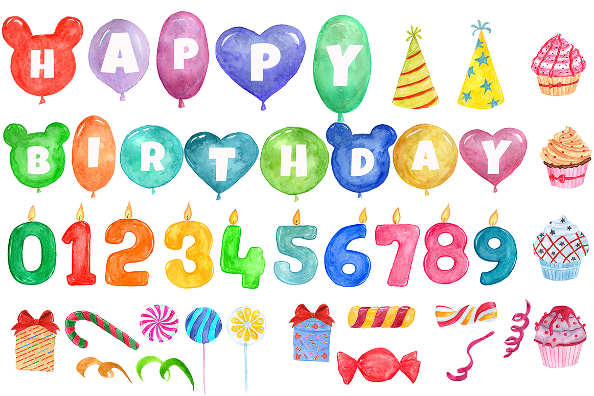 Birthday Party clipart example image 2