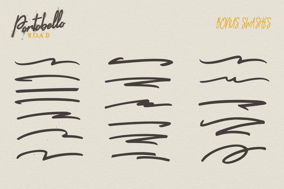 Portobello Road - Font Trio example image 7