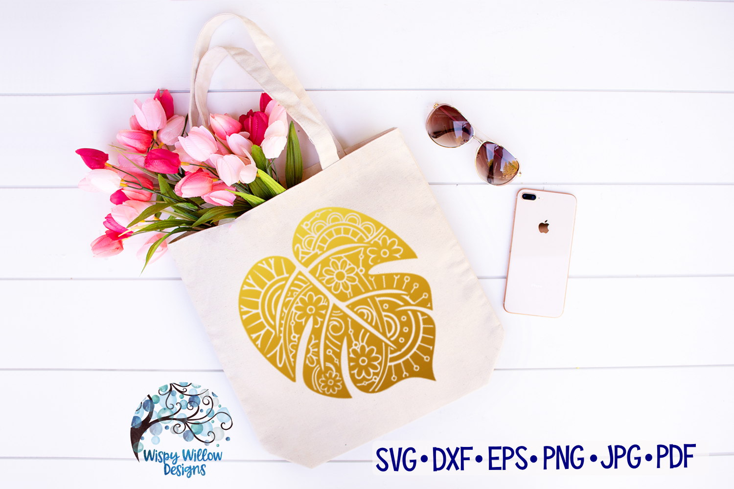 The Summer Zentangle SVG Bundle | Mermaid | Pineapple example image 9
