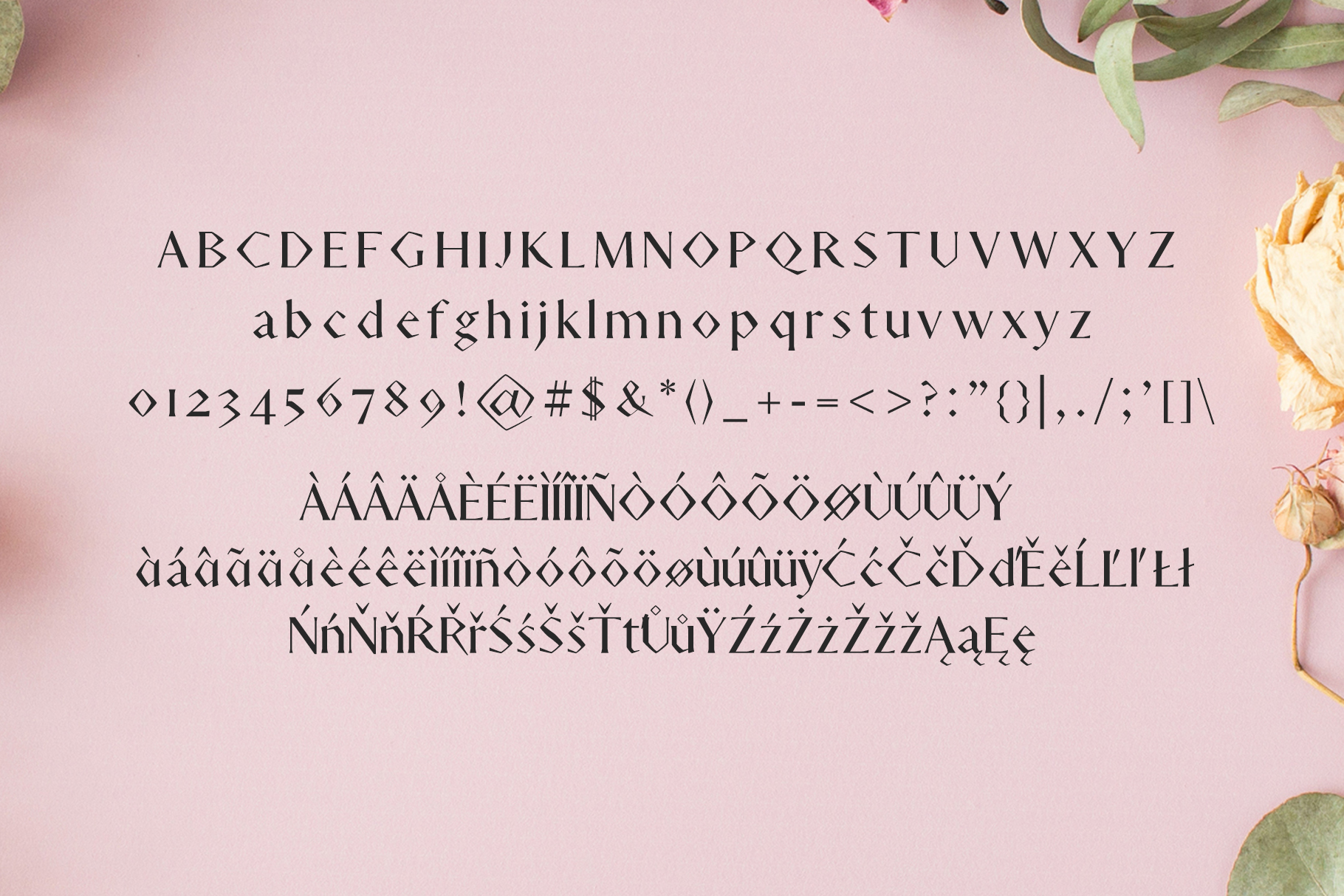 Adouliss Mag Serif Font Family example image 2