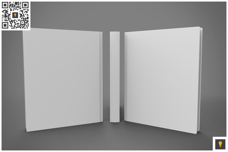Book Set 3D Render example image 2
