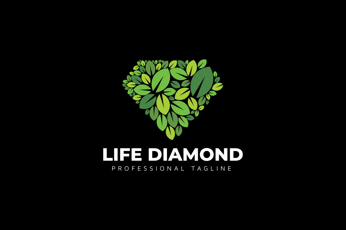 Life Diamond Logo example image 2