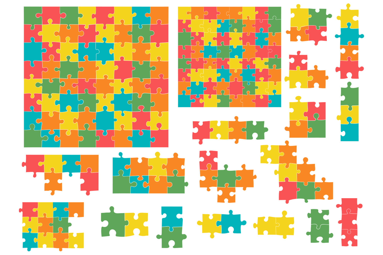 Jigsaw Puzzle Pieces example image 2