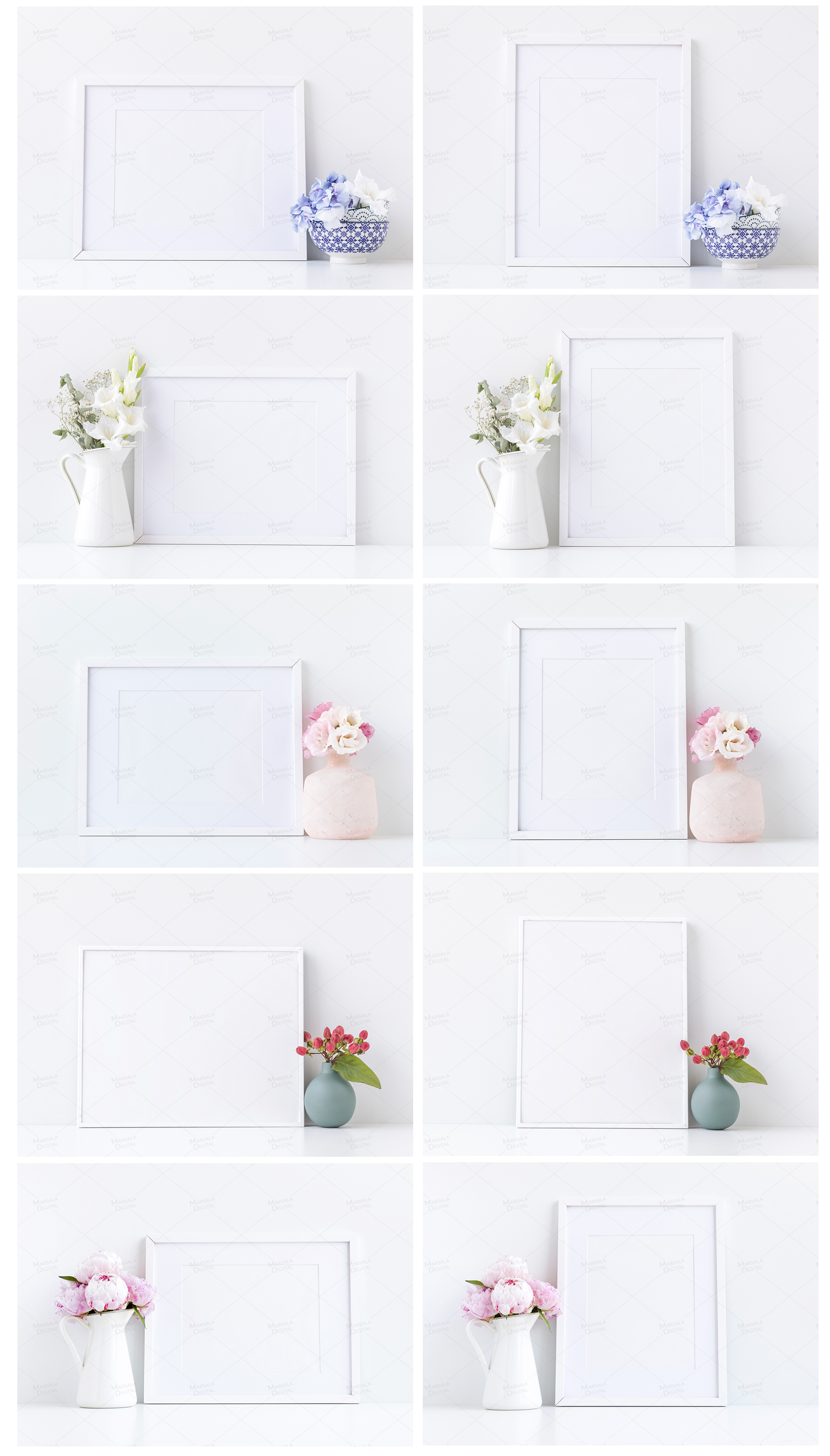 Massive Interior Wall Mockup, Frame Mockup Bundle FREE sampl example image 19