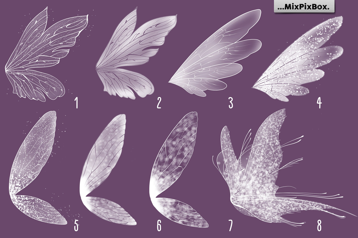 Fairy Wings Photo Overlays example image 5