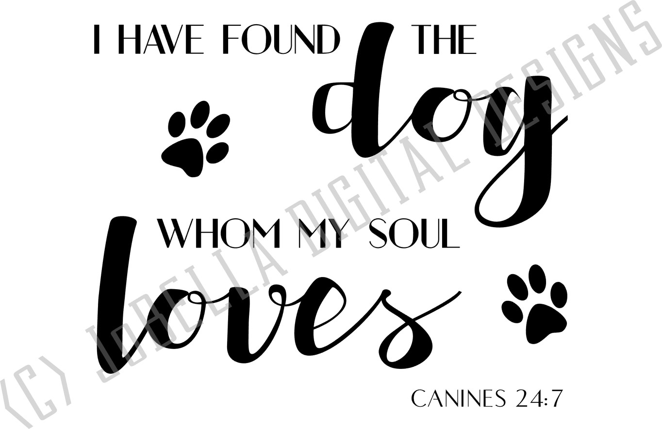 I Have Found The Dog SVG, Sublimation PNG & Printable example image 2