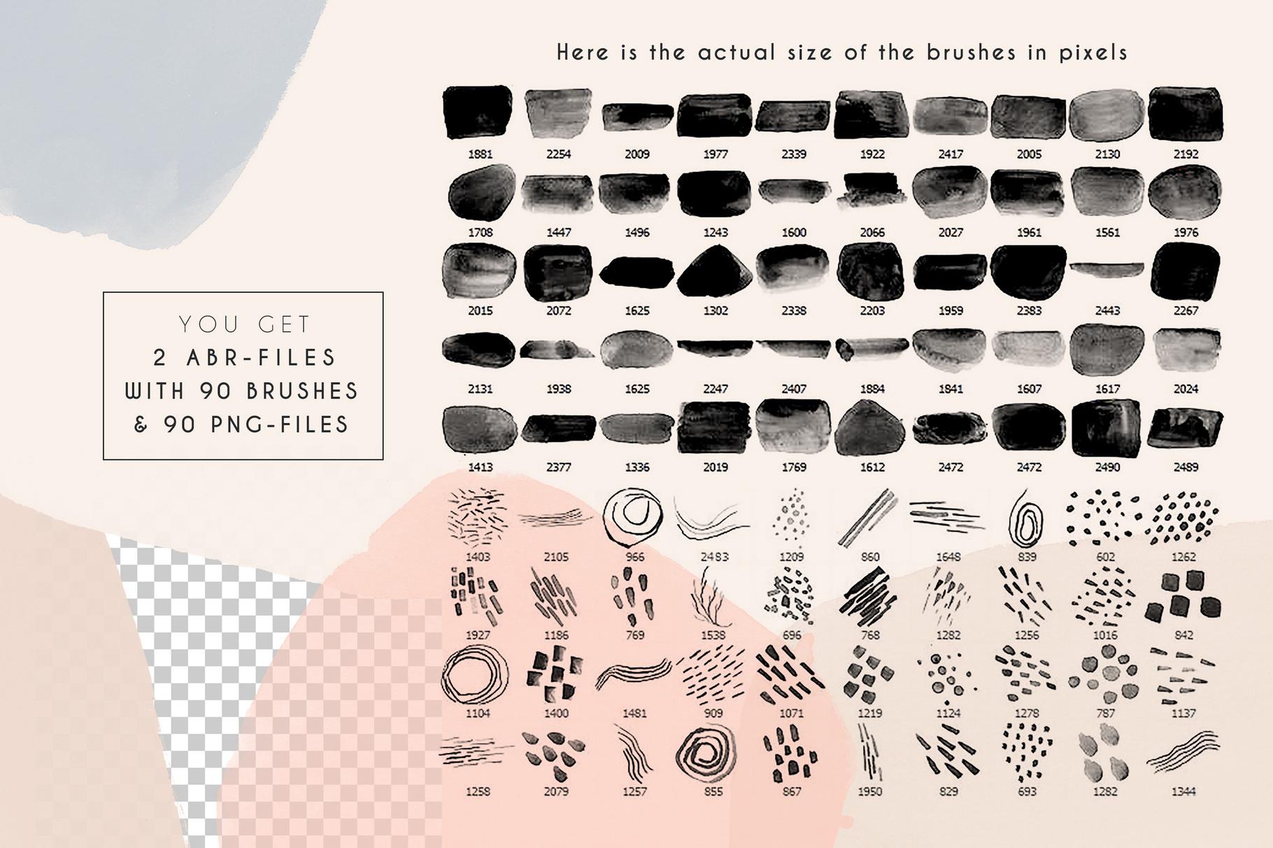 Clarity - Modern Photoshop Brushes example image 4