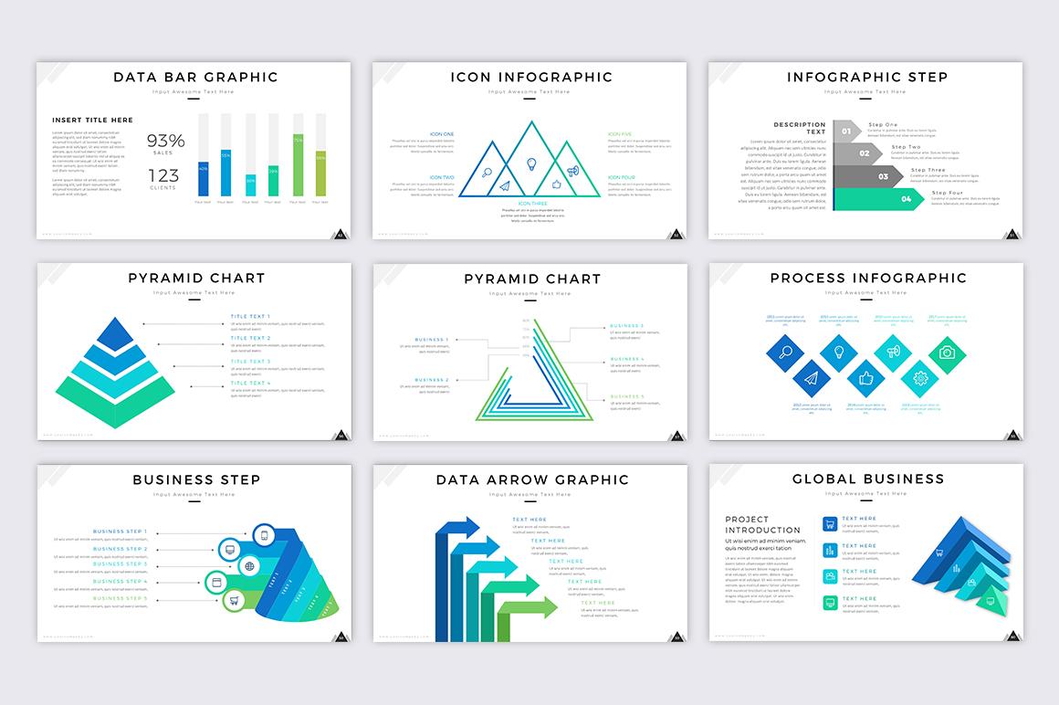Mountain - Creative Presentation example image 2
