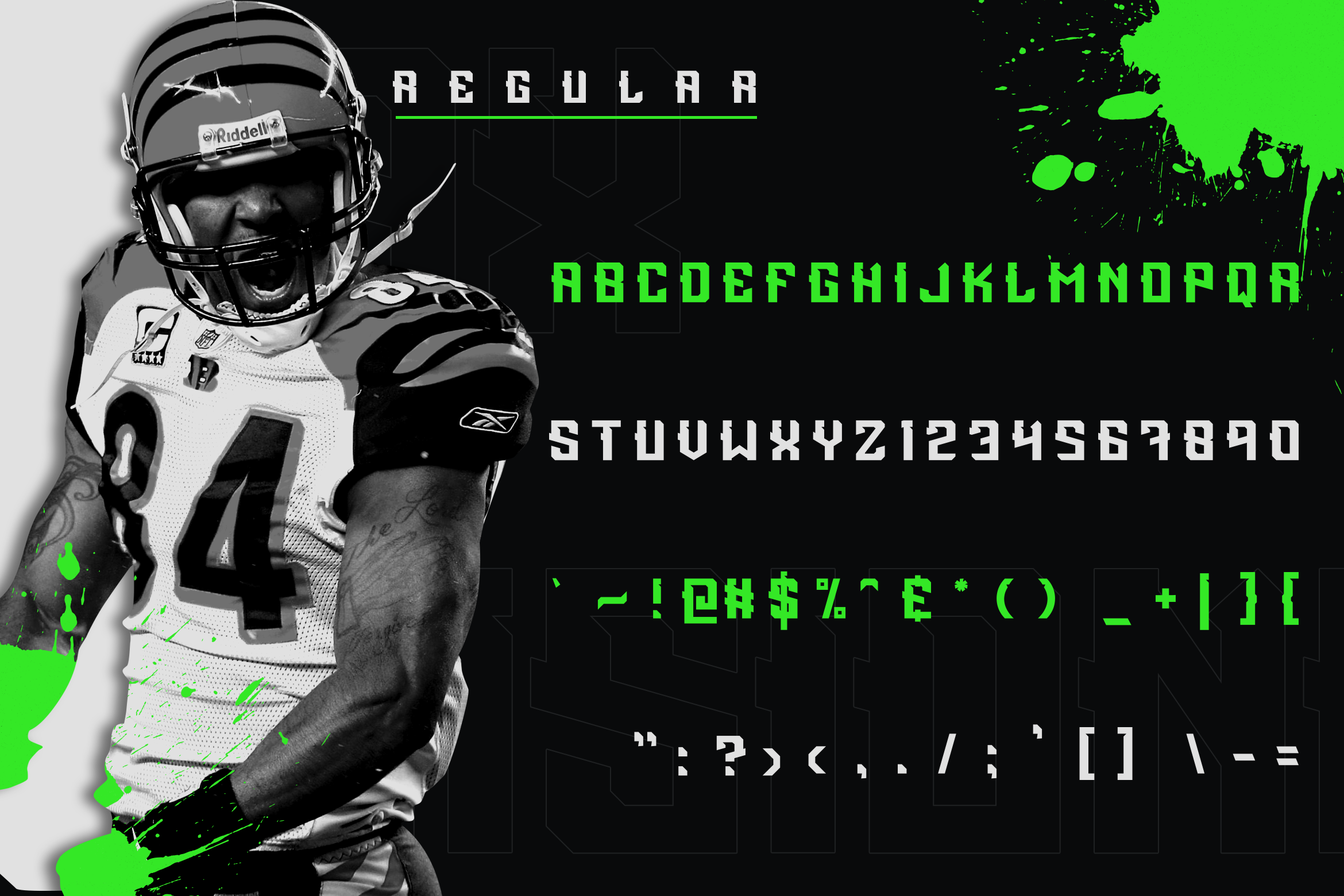 Incisionax Exclusive Display Font example image 3