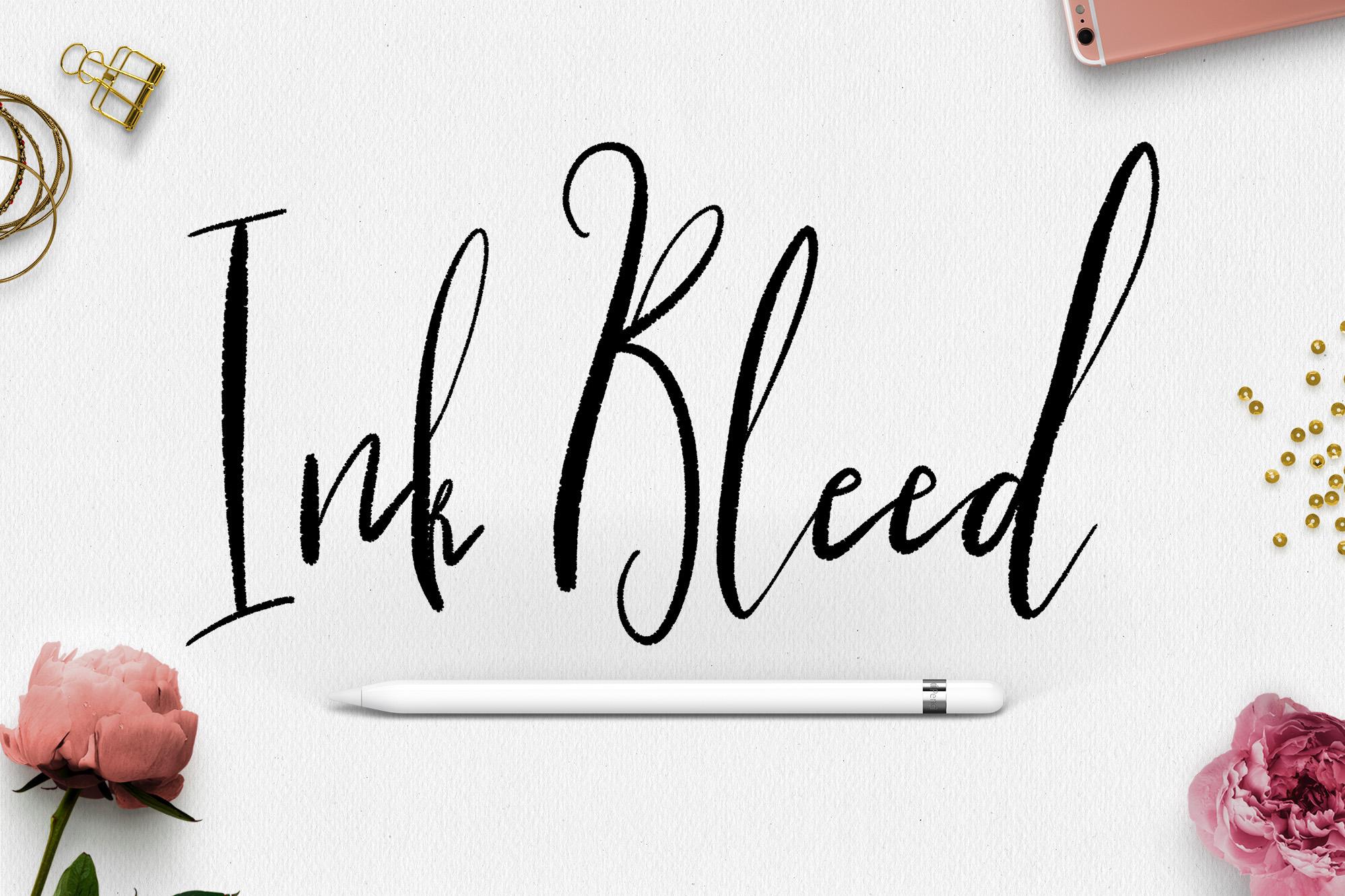 Procreate Lettering Brushes + Bonus example image 6
