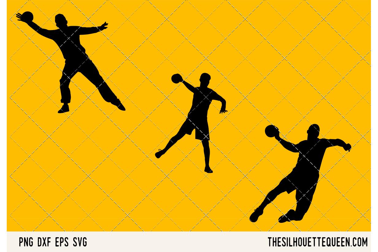 Handball Men SVG example image 1