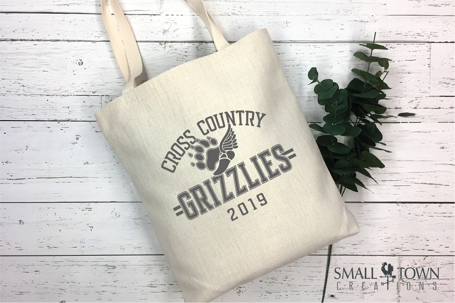 Grizzlies Cross Country, Sports, Logo, PRINT, CUT & DESIGN example image 4